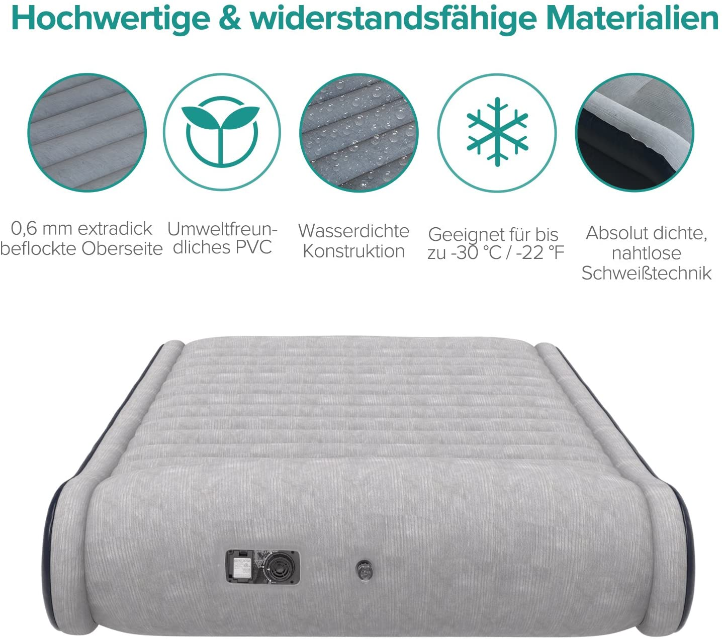 Aufblasbares Luftbett (Sable) Qualität