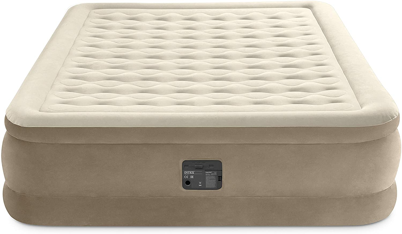 Intex Luftbett Ultra Plush (Queen) Beige komplette Ansicht