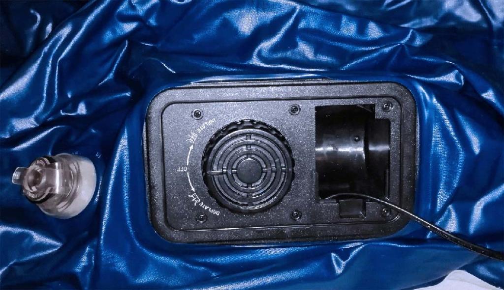 Integrierte Pumpe