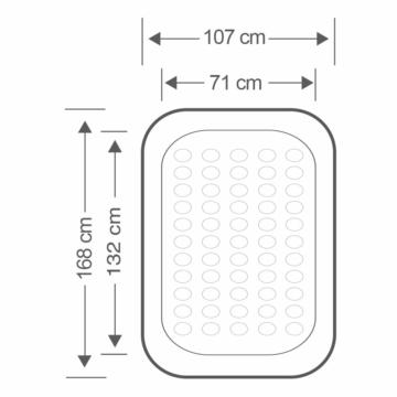 Kinder Luftbett Größe