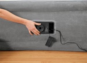 Intex Luftbett Comfort Gästebett mit Pumpe
