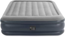 Intex Deluxe Pillow Rest Raised Luftbett (Queen)